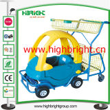 Stroller comercial Supermarket Children Cart para Kids
