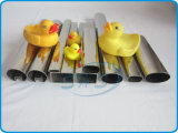 Tubi saldati dell'acciaio inossidabile (tubi) nel rivestimento dello specchio