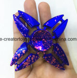 De modieuze Vorm van de Krab van de Driehoek van de Spinner van de Hand van de Legering van het Aluminium in het Hete Verkopen