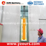 自動車かManual Electrostatic Powder Coating Spray Line