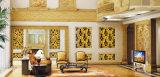 Hoja de acero inoxidable revestida del color del oro de 304 Champán para la pared