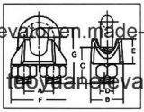 Clip de cuerda de alambre del estruendo 741
