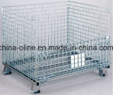 Recipiente de aço maioria do engranzamento do armazenamento (1000*800*840)