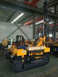 Opérations de fonctionnement simple 30 mètres Profondeur Jbp100b Équipement de forage à roche monté sur chenilles