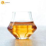 Kundenspezifischer starker unterer Kristallwhisky-Glascup-Set