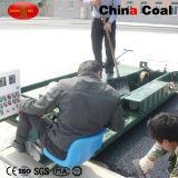 Máquina de goma de la pavimentadora de EPDM para el cauce plástico