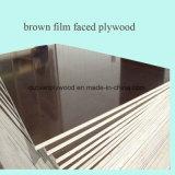 El negro/la película de Brown hizo frente a la madera contrachapada para la construcción