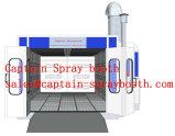 Cabine industrielle de peinture de four de traitement au four de cabine de jet