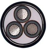 Câble d'alimentation moyen de Voltage 20kv Aluminum Conductor XLPE Insulated Steel Tape Armored