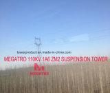 Torre de la suspensión de Megatro 110kv 1A6 Zm2