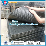 Anti-Slip Rubber Stable Mat Bubble Top Rubber Matting with Fiber Cow Rubber Mat