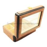 8 Schlitze PU-lederner Uhr-Kasten mit Glasfenster