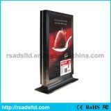 Vendite calde che fanno pubblicità al contenitore chiaro esterno di tabellone per le affissioni di alluminio di Scrolling