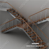 PVC Handrail를 가진 특별한 Design Interior Staircase