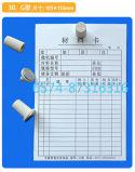 Taper à G 10.5*15.5cm la carte matérielle magnétique d'entrepôt de carte mémoire de carte avec des numéros