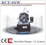 1.2-4.0mm Versatile CNC Spring Rotating Forming Machine& Compression/ Extension/ Torsion Spring Making Machine (KCT-35W)