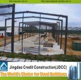 Edificio de acero del taller de la estructura de acero de Prefabriicated y del almacén de la estructura de acero