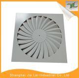 O teto substitui o difusor de alumínio do ar do retorno do círculo