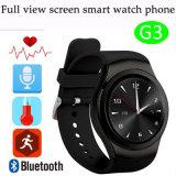 De volledige Telefoon van het Horloge van het Scherm Slimme met de Monitor van het Tarief van het Hart (G3)