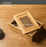 El SGS revisó el rectángulo de regalo de madera laqueado de moda del surtidor
