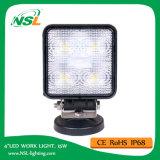lumière de travail de 15W DEL, 10-30V lumière de travail de C.C DEL avec 1275lm, faisceau d'endroit/inondation, 5PCS x 3W Epsitar DEL pour des camions, lumière de travail de DEL
