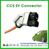 Штепсельная вилка заряжателя DC верхнего качества быстро для электрических автомобилей