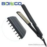 Redresseur réglable de cheveu de la température avec le balai fait dans Guangdong (V171)