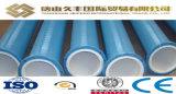 El tamaño grande, de tubos de acero de plástico de la guarnición