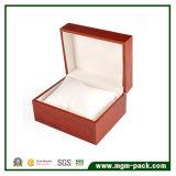 Коробка вахты высокого лоснистого квадрата отделки деревянная