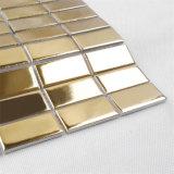 Equipo de cristal de la capa del oro de mosaico PVD