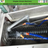 Tubulação espiral Sheathed protetora do cabo do bacalhau do PE que faz a máquina