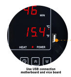 통제 온도와 빛을%s 가진 발광 다이오드 표시 산소 바 Sauna 실내 온도 관제사
