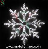 Lichten van het Motief van de Sneeuwvlok van Kerstmis van de Levering van de fabriek de Decoratieve