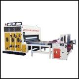 Máquina que ranura del agua de la tinta de la impresión multicolora del cartón