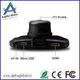 Visão noturna excelente de Dashcam do carro de Ambarella A7 da câmera do carro de HD 1080P DVR