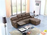 com sofá de couro ajusta a mobília manual da função para a sala de visitas usada