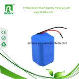 Het Li-ionen Pak van de Batterij Icr18650 14.8V 2200mAh met Schakelaar