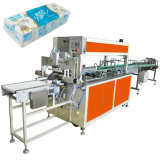 Rouleau de papier hygiénique de 16 paquets empaquetant la machine à emballer