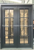 トランサムの鉄のフレンチドアの側面の出入口