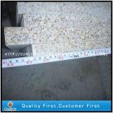 Escaliers jaunes rouillés Polished normaux d'opérations de pierre du granit G682