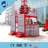 건물 호이스트를 위한 두 배 감금소 건축 기중기 Sc200/200 건축 호이스트