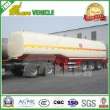 Rimorchio dell'autocisterna del combustibile derivato del petrolio di trasporto dei 3 assi