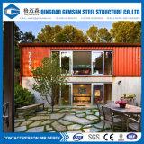 De prefab Huizen van de Verschepende Container voor Verkoop