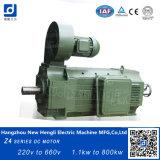 Nuevo motor de la C.C. del Ce Z4-160-22 16.5kw 900rpm de Hengli