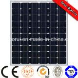 Monocristalino material de silicio y 3 mm * Tamaño del panel solar de película delgada flexible 1315 * 540