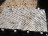 Vier Dreieck-Deckel-duktiles Eisen-Einsteigeloch