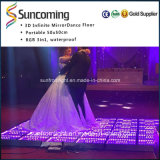 Design細いCheap Colorful 3D Illusion Light PVC Dancefloor