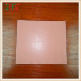 Silicone Thermal Gap Pad avec Pink + Hoar Color