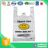 플라스틱 t-셔츠는 쇼핑을%s 자루에 넣는다 감사한다