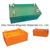 Séparateur magnétique permanent de suspension de la série Rcyb-5 pour le fer de Removeing des matériaux non magnétiques
